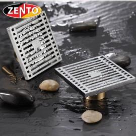 Phễu thoát sàn chống mùi và côn trùng Zento ZT528-1AV (100x100mm)